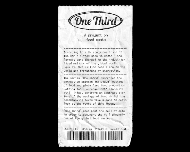 One third  - a project on food waste