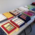 Preparing the La Couleur du Vent Exhibit + Opening Reception