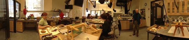 example of a conservation lab used for teaching